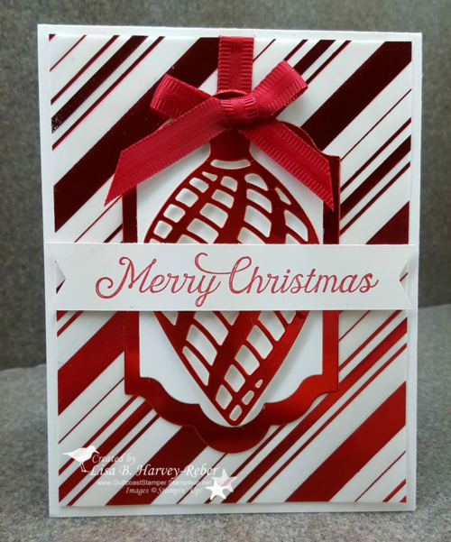 Red Foil Ornament - 1